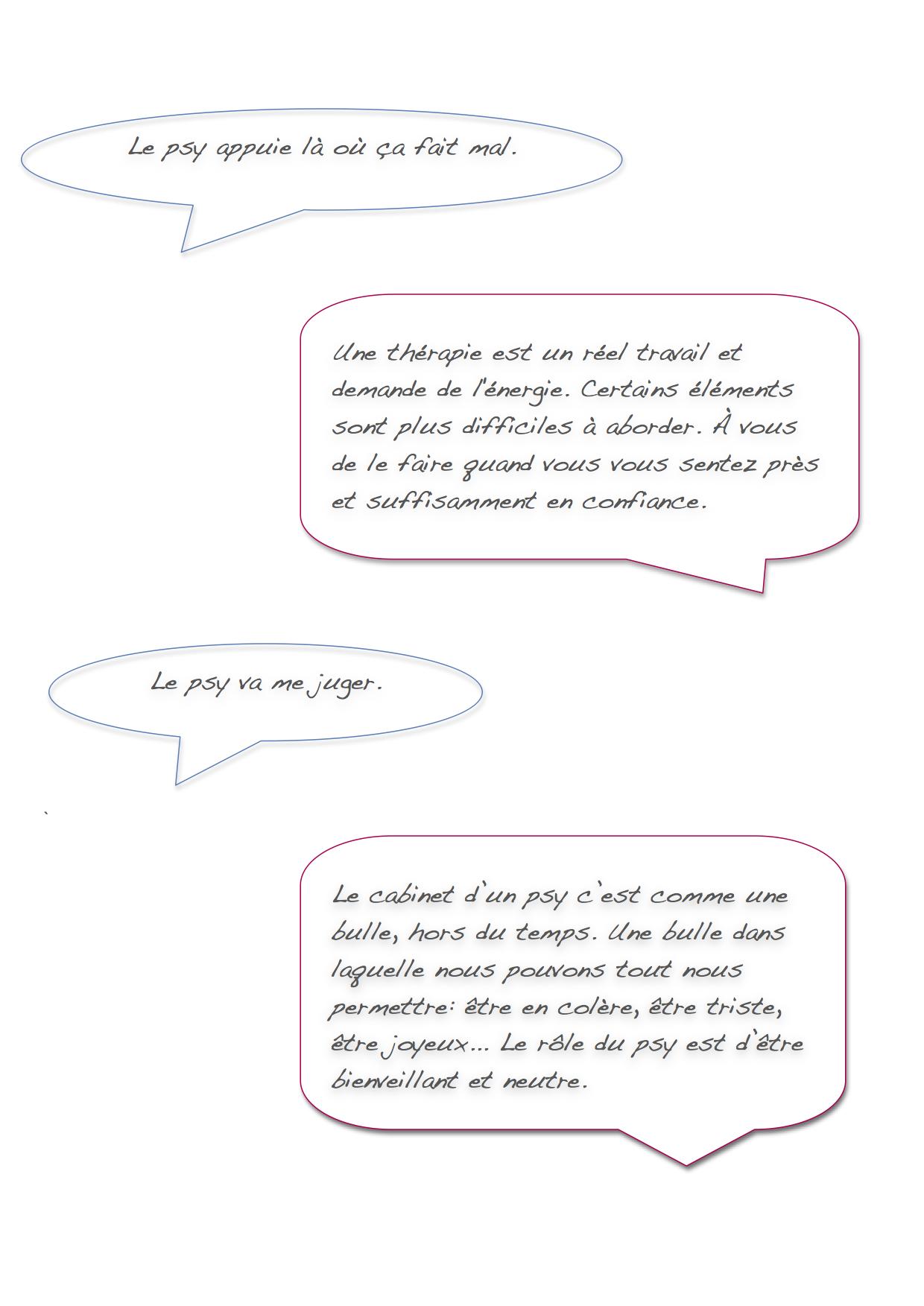 Questions sur les psy2