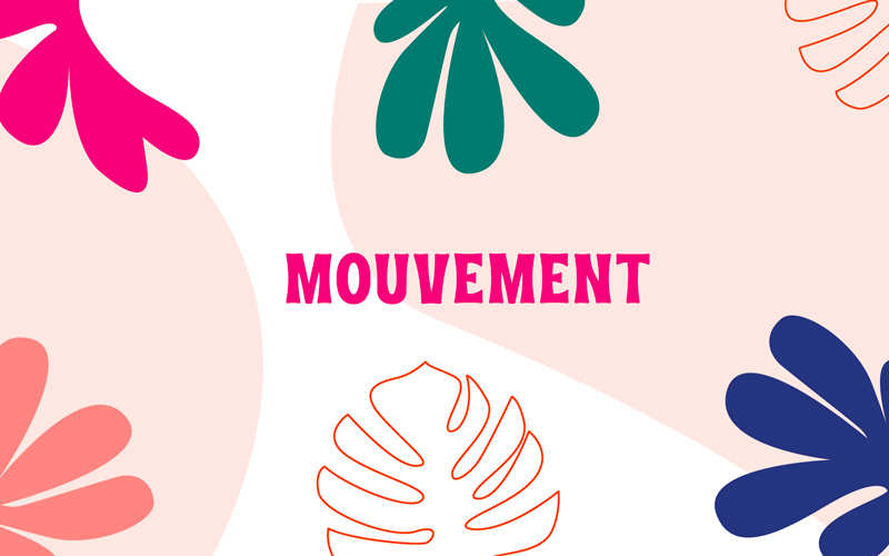 Illustrations pour programme mouvement